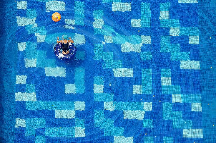 Geometry of Swimming by Jolanta Mazur