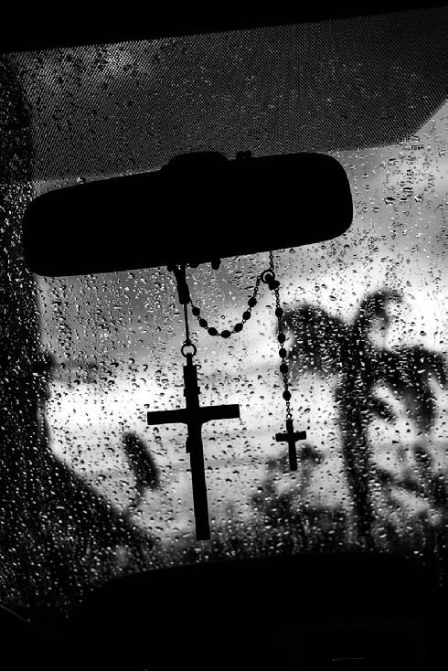 LA Rain by Larry French