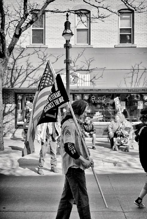 Veteran on the March to the Capital