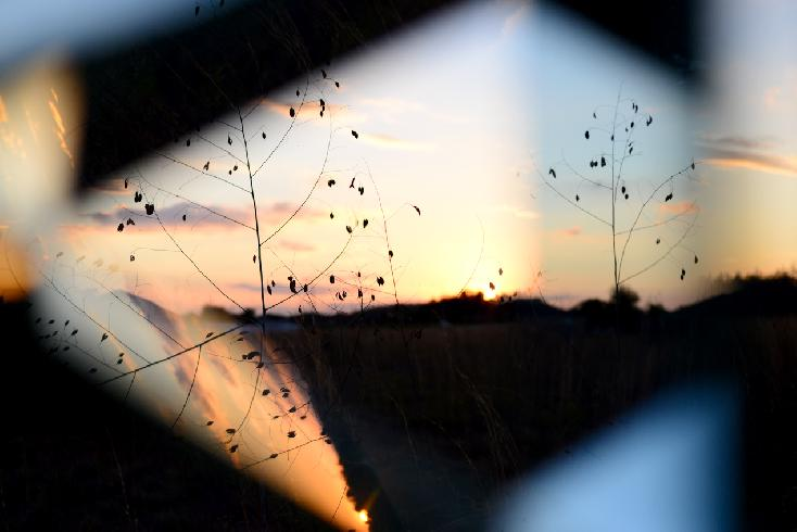Abstract Sunset by Melissa Berrios