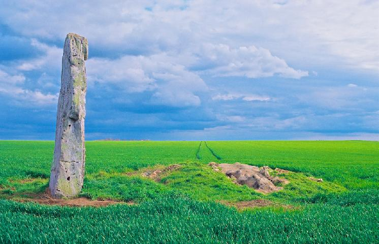 Megalithic Monument, France by Julie O'Connor