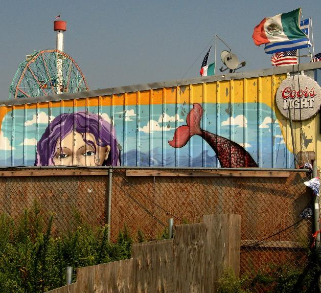 Coney Island by Dave Levingston