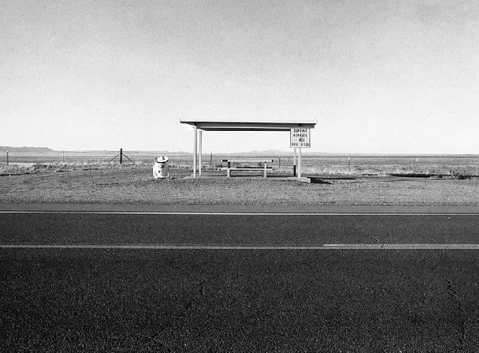 Rest Stop New Mexico by Gary Quart
