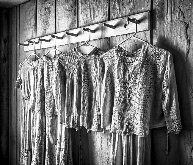 Old Fashioned Nighclothes by Rebecca Rothey