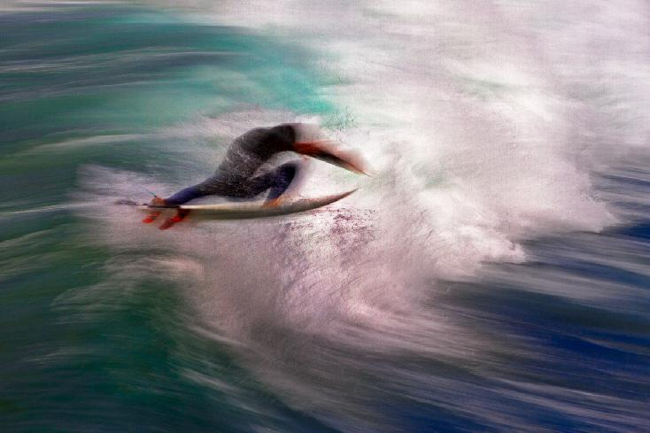 "Juror's Choice: ""Surfer Warrior"" by Charlie Hunt from Huntington Beach, CA USA"