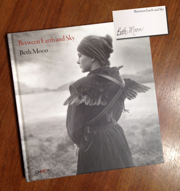 "Juror's Choice will also receive this signed copy of Beth Moon's Book ""Between Earth and Sky"""