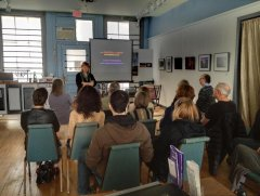 Linda Rutenberg - speaking at the Darkroom Gallery
