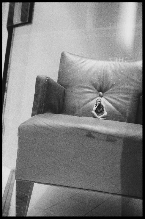 Little Lady Big Chair by Liza Hennessey Botkin