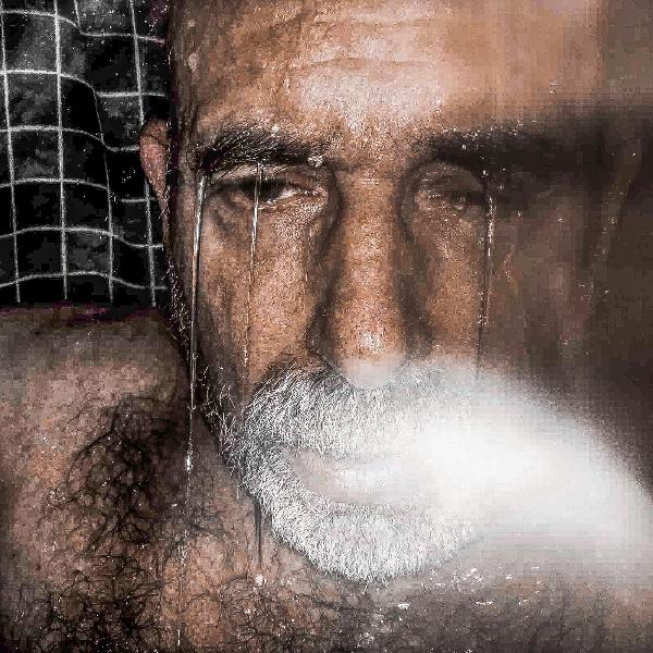 Shower Portrait, Troy, New York, October 2016 by Michael Bach