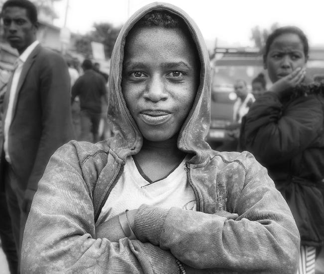 Street Portrait, Addis Ababa  by Li Shen