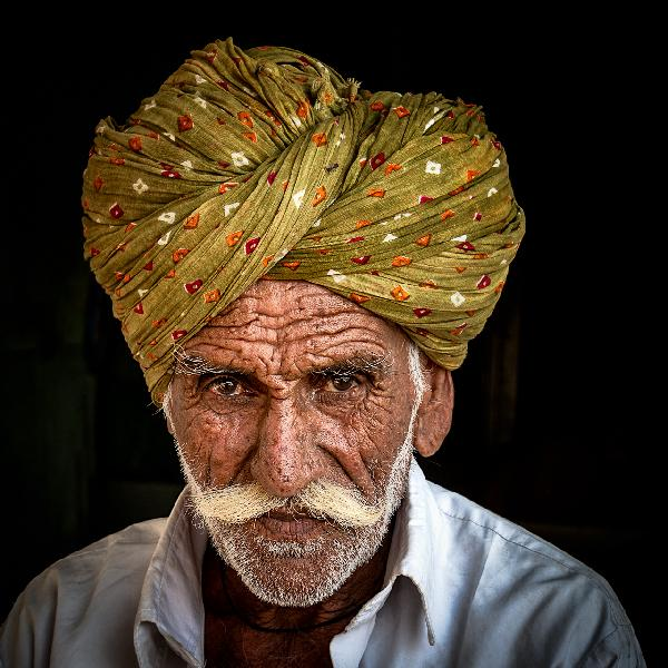 Man with Turban by Michael Matthews